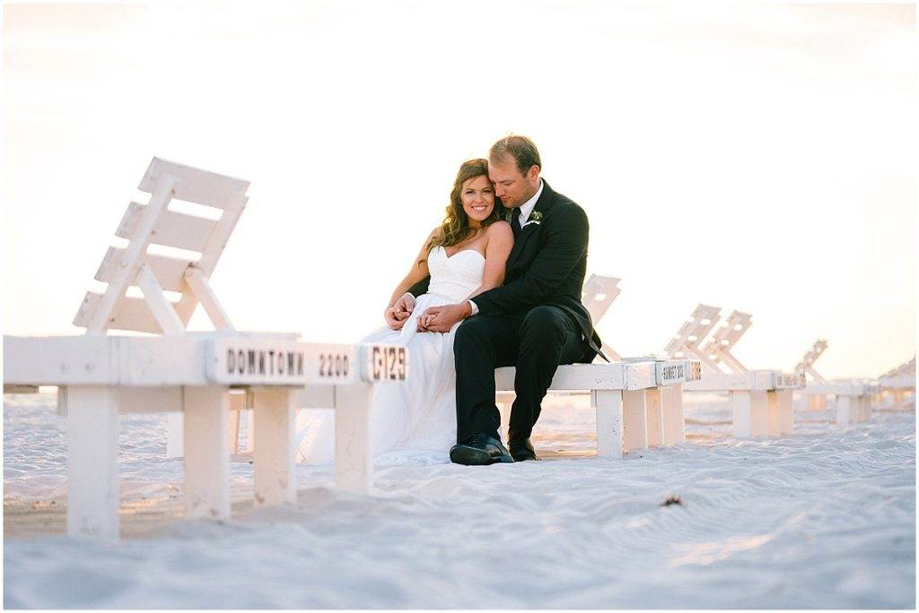 wedding couple carillon beach fl