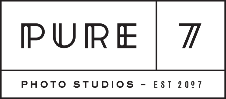 Pure 7 Studios: Rosemary Beach, 30A & Destin FL Photographer Retina Logo