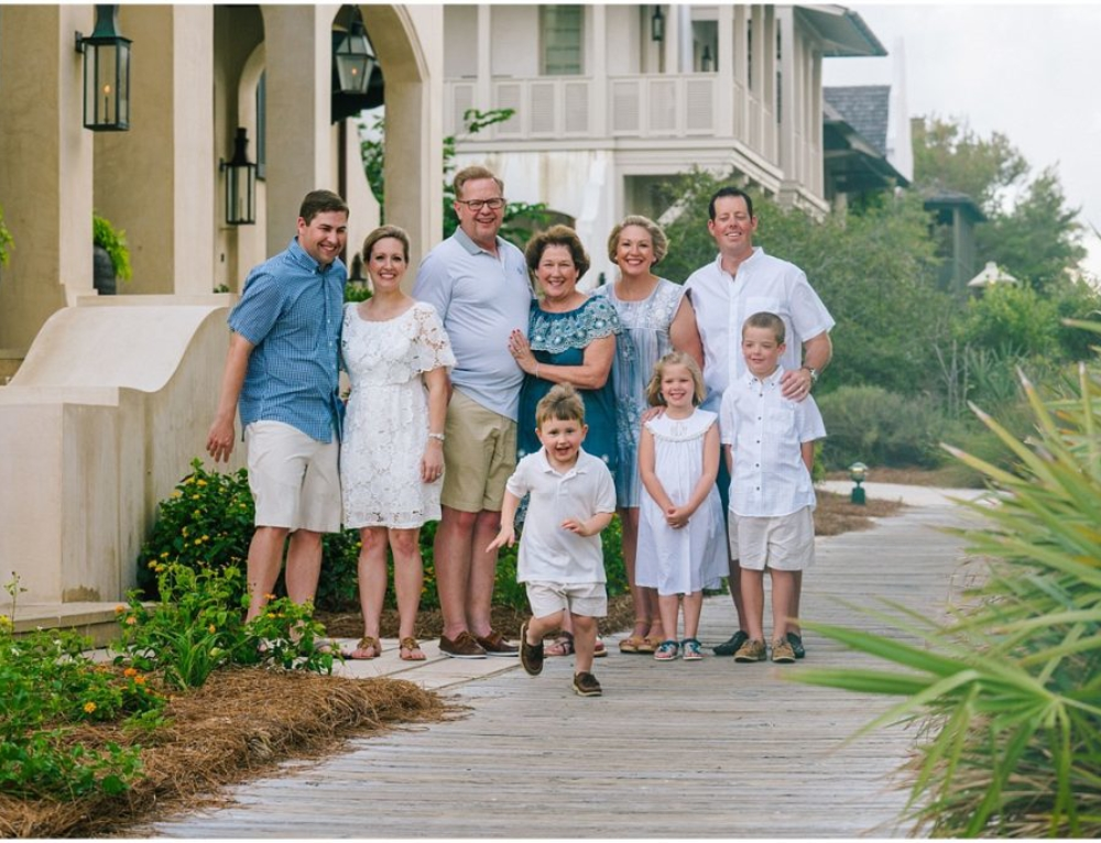 Family Photos in Rosemary Beach | Evans Family