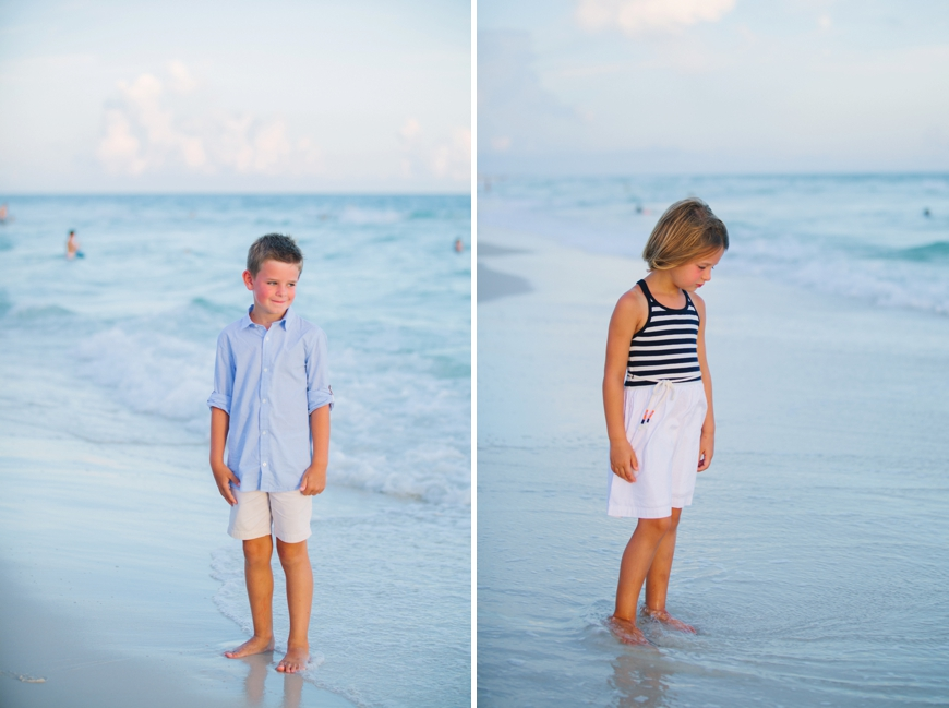 Family Beach Photos in Watercolor, FL |Beckett Family