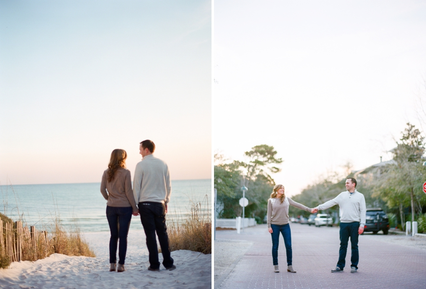Pure7 Studios Engagement Photos in Seaside, FL| Angie + Michael