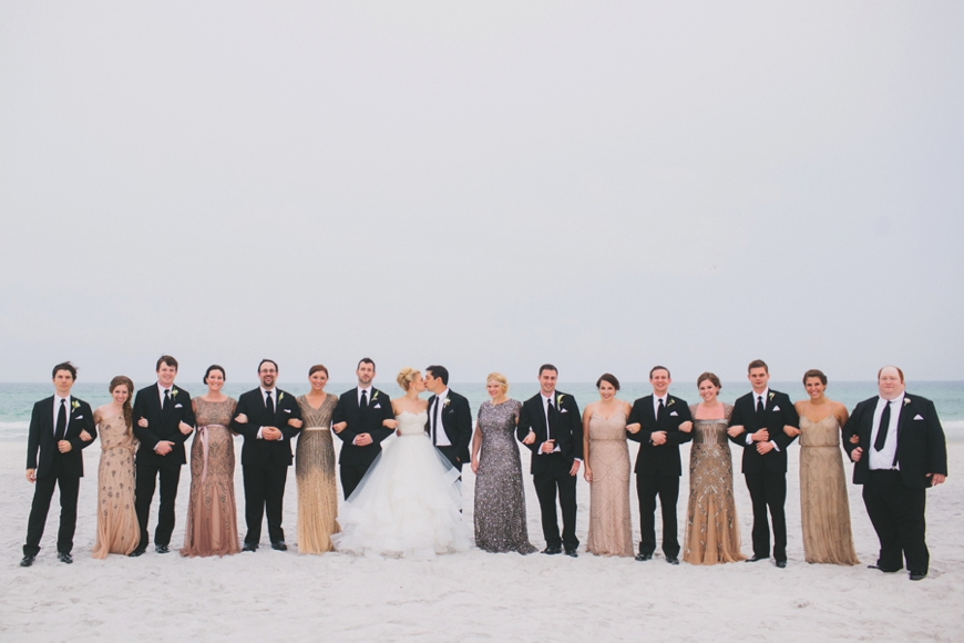 Wonderful Watersound Beach Wedding | Caroline & Nick